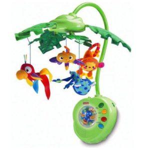 Каруселька-мобиль Fisher-Price Тропический лес