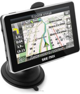 GPS-Навигатор SeeMax e510HD BT