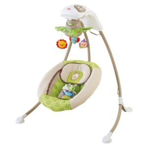 Колыбель-качели Fisher Price Baby Papasan