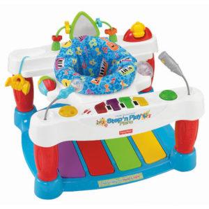 Развивающий центр с ходунками oт Fisher-Price«Little Superstar-Step and Play Piano»