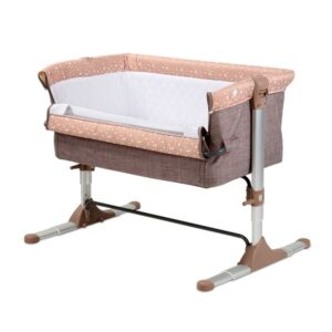 Приставная детская кроватка Lorelli Sleep'n'Care (beige elephant)